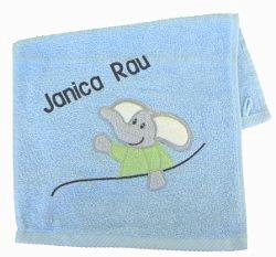 Handtuch bestickt für Kinder