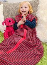 Bio-Baumwolle Schlafsack für Kinder