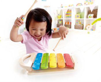 xylophon baby klangspielzug und motorikspielzeug aus holz. Black Bedroom Furniture Sets. Home Design Ideas