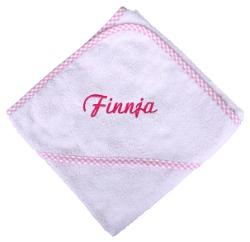 geburtsgeschenk babyset 3 teilig mit namen bestickt in rosa oder hellblau. Black Bedroom Furniture Sets. Home Design Ideas