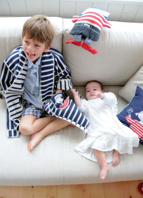kimono bademantel f r kinder. Black Bedroom Furniture Sets. Home Design Ideas