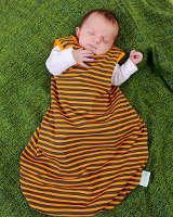 Babyschlafsack aus Biobaumwolle