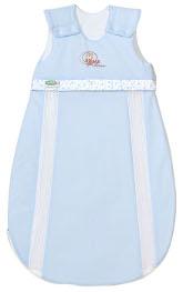Hellblauer Jersey Schlafsack von Odenwälder
