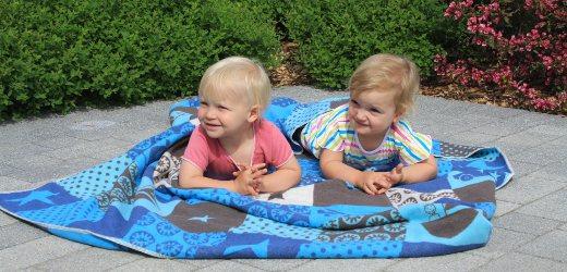 Kinderdecke blau von Fussenegger