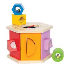 Steckwuerfel - Sortierbox, Spielzeug ab 1 Jahr