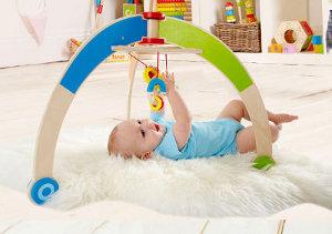 spielbogen aus holz spieltrainer f r babys online kaufen. Black Bedroom Furniture Sets. Home Design Ideas
