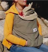 Tragecover für den Winter mit Manduca Babytrage