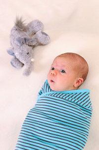 womby bag ohne Kapuze für babys