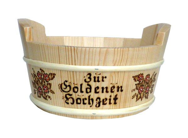 Geschenk Korb Zur Goldenen Hochzeit Online Bestellen