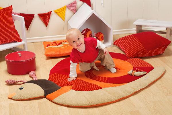 baby krabbeldecke schnecke stuart 95 x 130 cm online kaufen. Black Bedroom Furniture Sets. Home Design Ideas