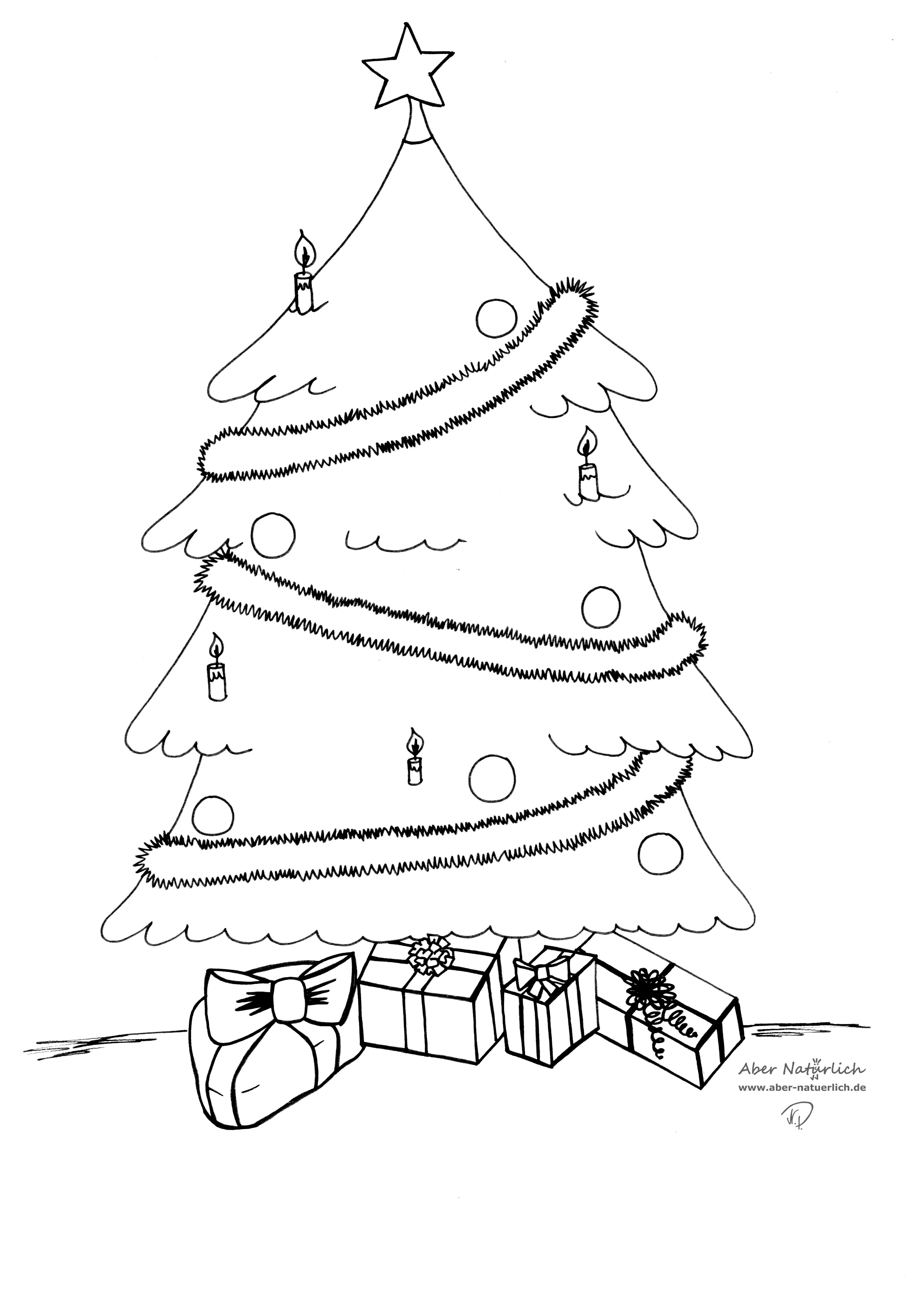weihnachten ausmalbilder