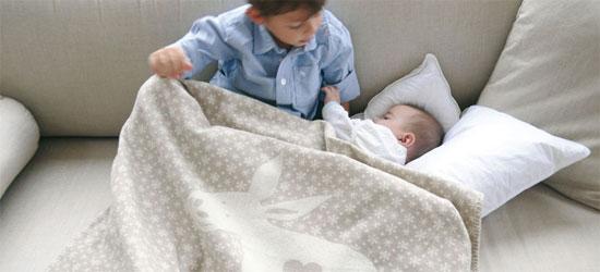 Babydecke zur Taufe