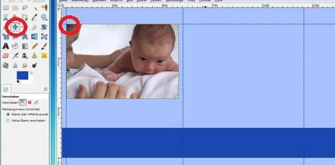 Babyfoto Position