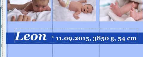 Name und Geburtsdaten