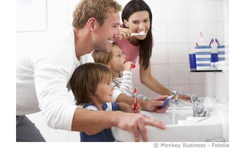 Zahnprophylaxe für Kinder