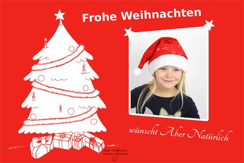 Digitale Weihnachtskarten.Einfach Und Gunstig Weihnachtskarte Selber Gestalten Mit